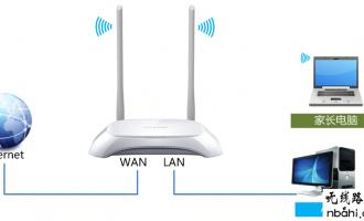 tp-link路由器TL-WR842N V1-V3家长控制管控小孩上网的设置方法